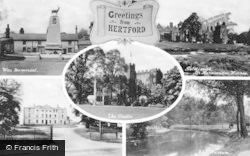 Hertford, Composite c.1955