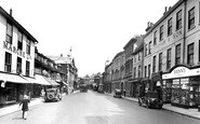 Hertford, Fore Street 1933