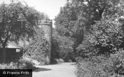 Hertford, The Castle Grounds c.1955