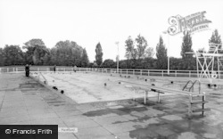 Hertford, The Swimming Pool c.1960