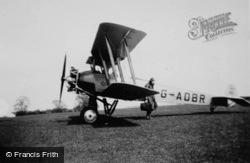 Biplane, Jubilee Air Display Ltd 1935, Hertingfordbury