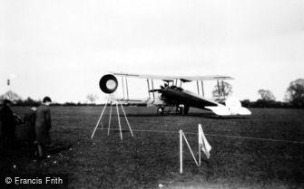 Hertingfordbury, Biplane, Jubilee Air Display Ltd 1935