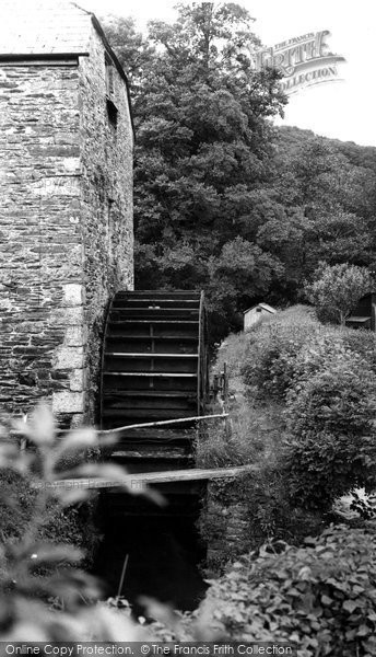 Hessenford,the Old Mill c1955,Cornwall