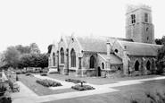Heston, the Parish Church c1955