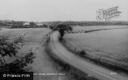 Heswall, Brimstage Road, Heswall Hills c.1965
