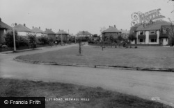 Heswall, Brooklet Road, Heswall Hills c.1965