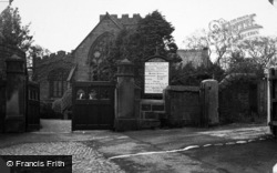 Heswall, Church Approach c.1955