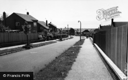 Heswall, Hinderton Drive c.1965