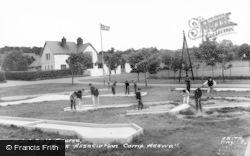 Heswall, Labc Camp, Mini Golf Course c.1965