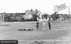 Heswall, Liverpool Boys' Association Camp Putting Green c.1960