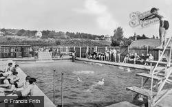 Heswall, Liverpool Boys' Association Camp Swimming Pool c.1955