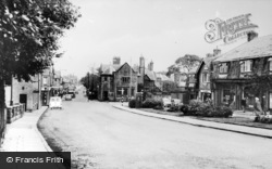 Heswall, Telegraph Road c.1960