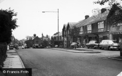 Heswall, Telegraph Road, Castle Buildings c.1960