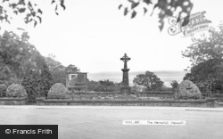 Heswall, The Memorial c.1955