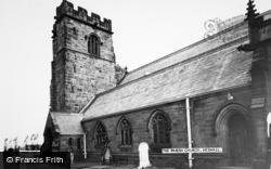 Heswall, The Parish Church c.1965