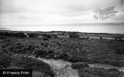 Heswall, View From The Dale c.1960