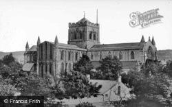 Abbey c.1935, Hexham