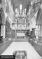 Hexham, Abbey, Frith Stool And Sanctuary c.1935