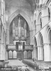 Hexham, Abbey Interior c.1881