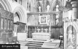 Hexham, Abbey, Sanctuary c.1935