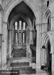 Abbey, The Transepts c.1935, Hexham
