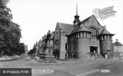 Beaumont Street And Benson Memorial c.1960, Hexham