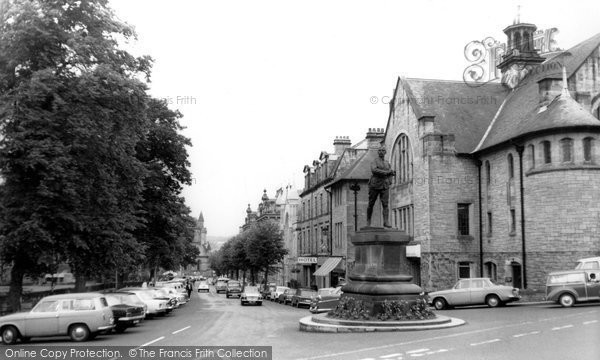 Photo of Hexham, Beaumont Street c1965, ref. H80095