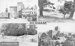Hexham, Composite c.1950