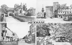 Hexham, Composite c.1955