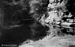Hexham, Devils Water c.1955