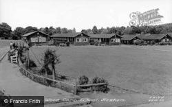 Dukes House Wood Camp School c.1955, Hexham