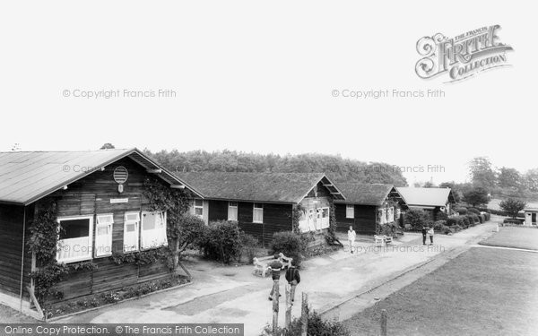 Photo of Hexham, Dukes House Wood Camp School c.1955