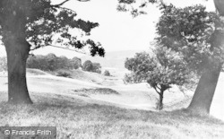 Hexham, Golf Course, 8th Tee c.1950