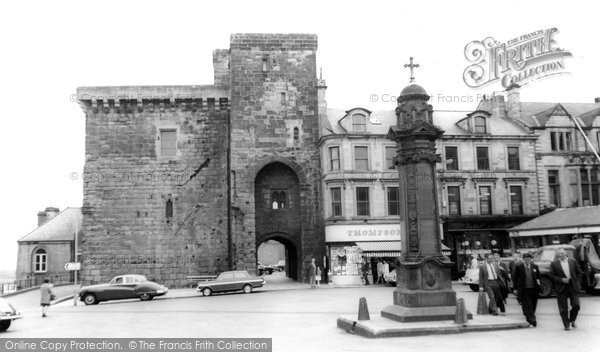 Photo of Hexham, Moot Hall c1960, ref. H80103
