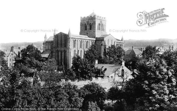 Photo of Hexham, the Abbey 1888, ref. 21062