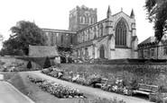 Hexham, the Abbey c1955
