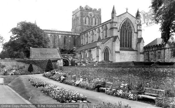 Photo of Hexham, the Abbey c1955, ref. H80010