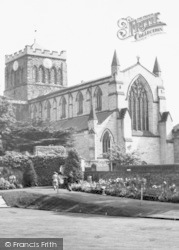 Hexham, The Abbey c.1960