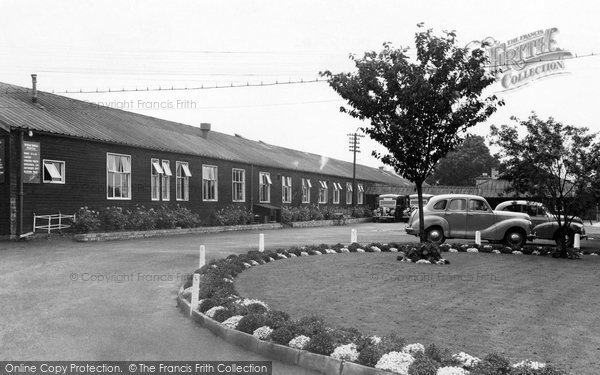 Hexham, the General Hospital c1955