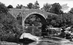 Hexworthy, Huccaby Bridge c.1955