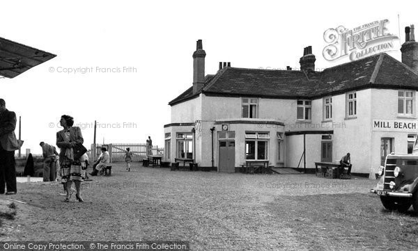 Heybridge, Mill Beach Hotel c1955