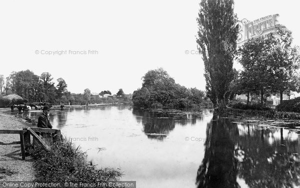 Heybridge, the River Blackwater 1895
