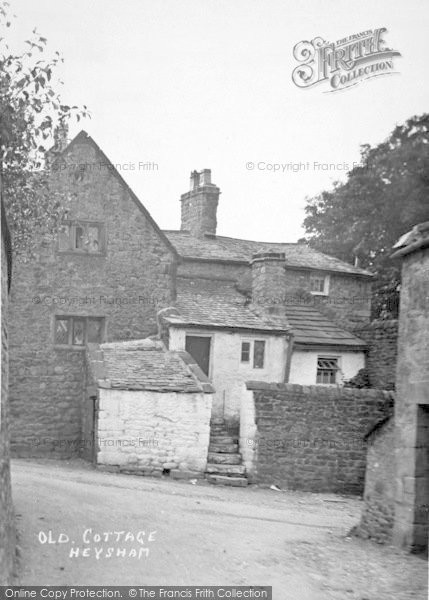 Photo of Heysham, An Old Cottage c.1900