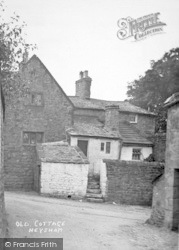 Heysham, An Old Cottage c.1900