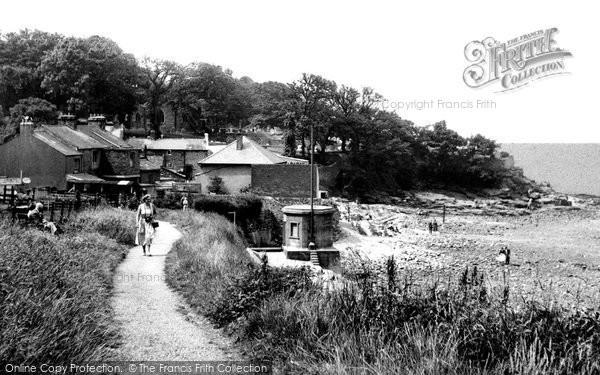 Photo of Heysham, Cliff Walk c.1955