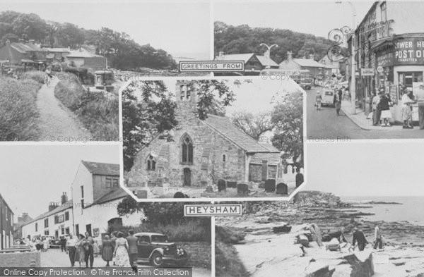 Photo of Heysham, Composite c.1955