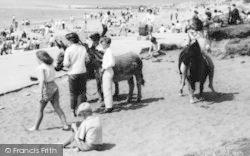 Heysham, Donkey Rides, Half Moon Bay c.1965