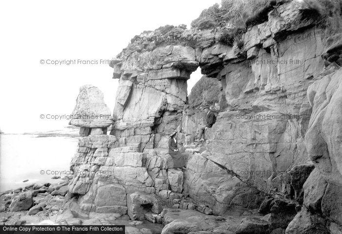 Photo of Heysham, Fairy Chapel Rocks 1912