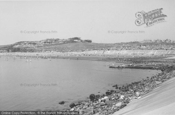 Photo of Heysham, Half Moon Bay c.1960
