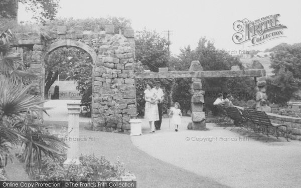 Photo of Heysham, Heysham Head, A Stroll In The Gardens c.1955